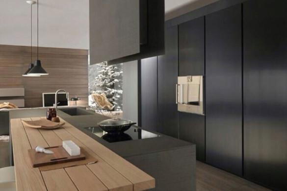Pareti Colorate Bronzo : Moderne isole per cucina in marmo thepich