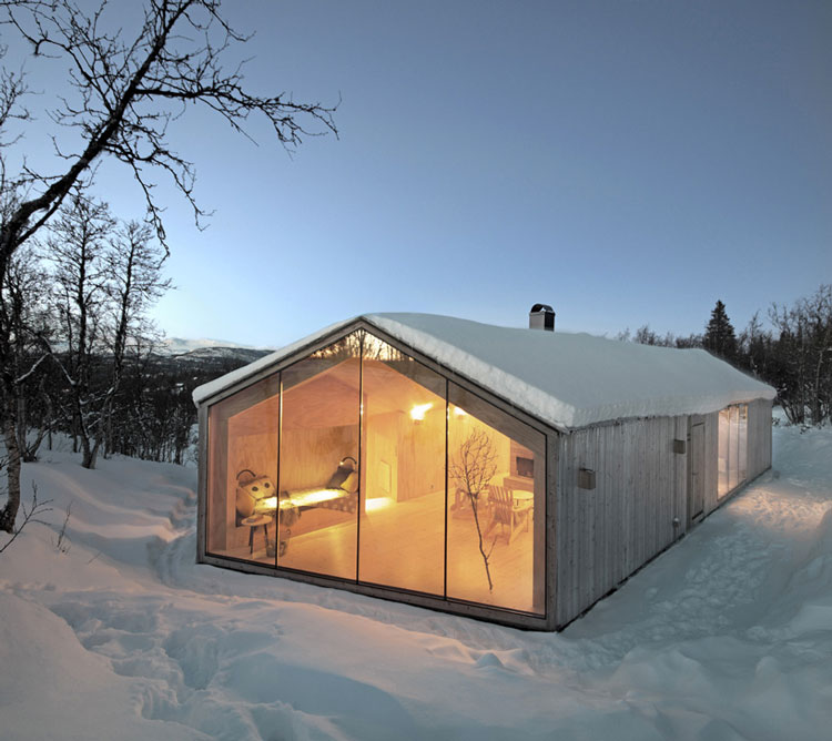 wreiulf-ramstad-v-lodge-timber-cabin-norway-designboom-03