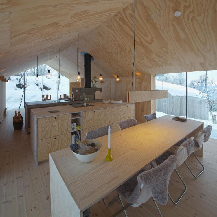 wreiulf-ramstad-v-lodge-timber-cabin-norway-designboom-07
