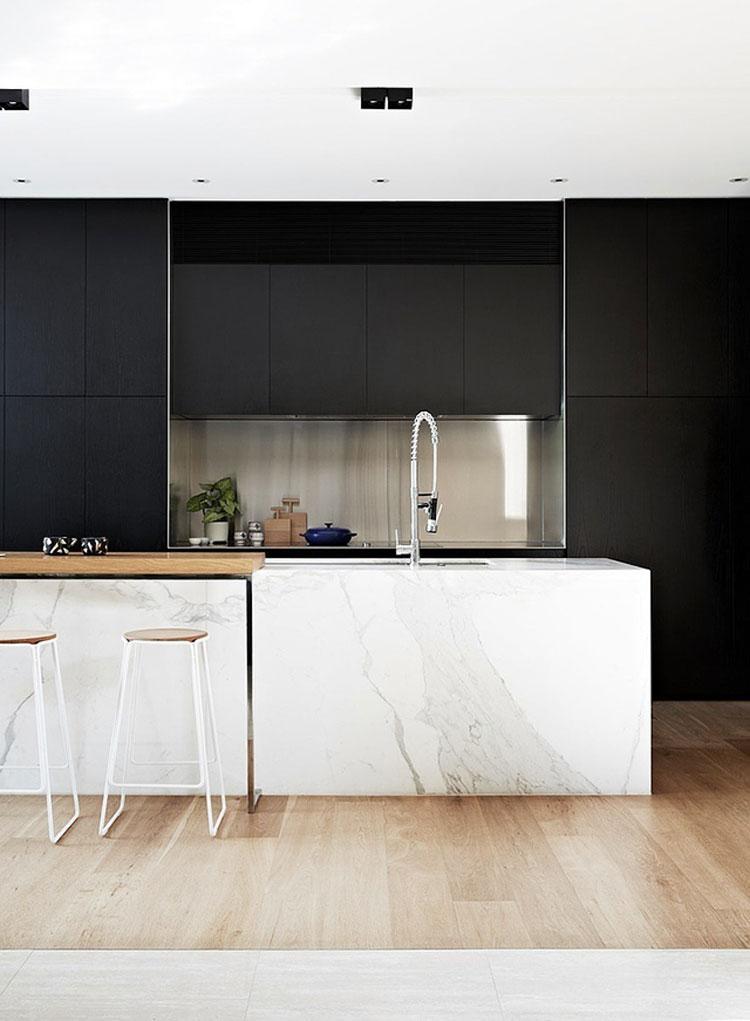 Célèbre 10 moderne isole per cucina in marmo | Thepich HG95