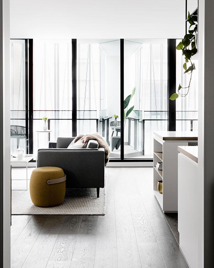 6 lindos salones con sof s oscuros thepich for Salotti bellissimi