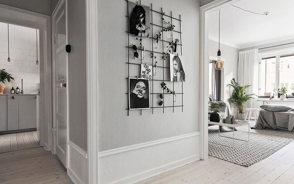 Pareti Con Cornici Diverse decorare la parete con una galleria di immagini | thepich